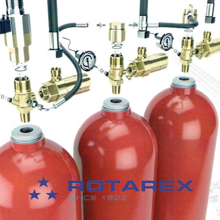 Hệ Thống Chữa Cháy Khí Nitơ Rotarex